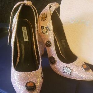 Glittering Pump Shoes
